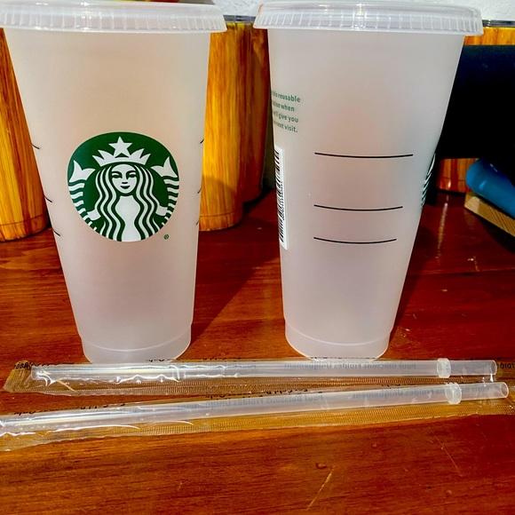 Starbucks 24oz venti cold cup